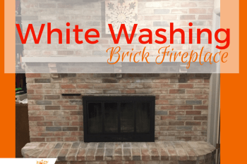 White Washing Brick Fireplaces