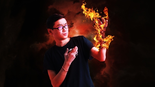 fire effect, fire editing