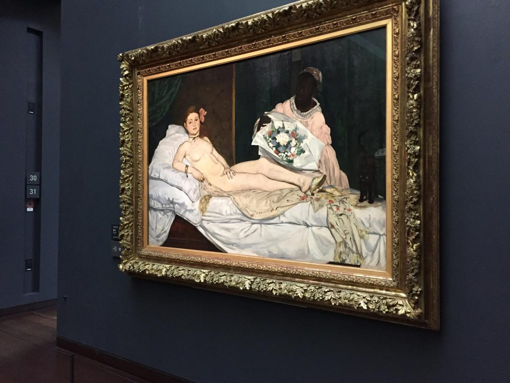 Manet, famous painting! Musee D'orsay