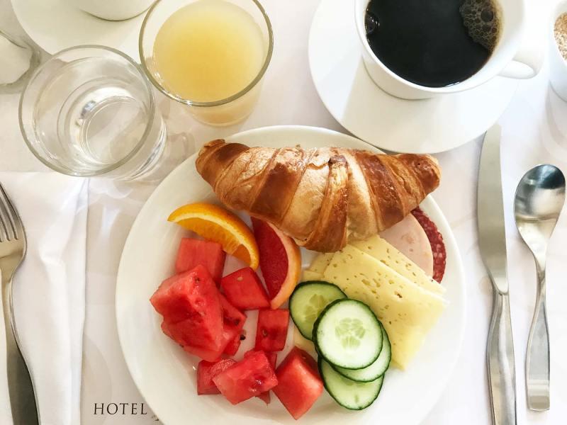 Breakfast in Helsinki Finland