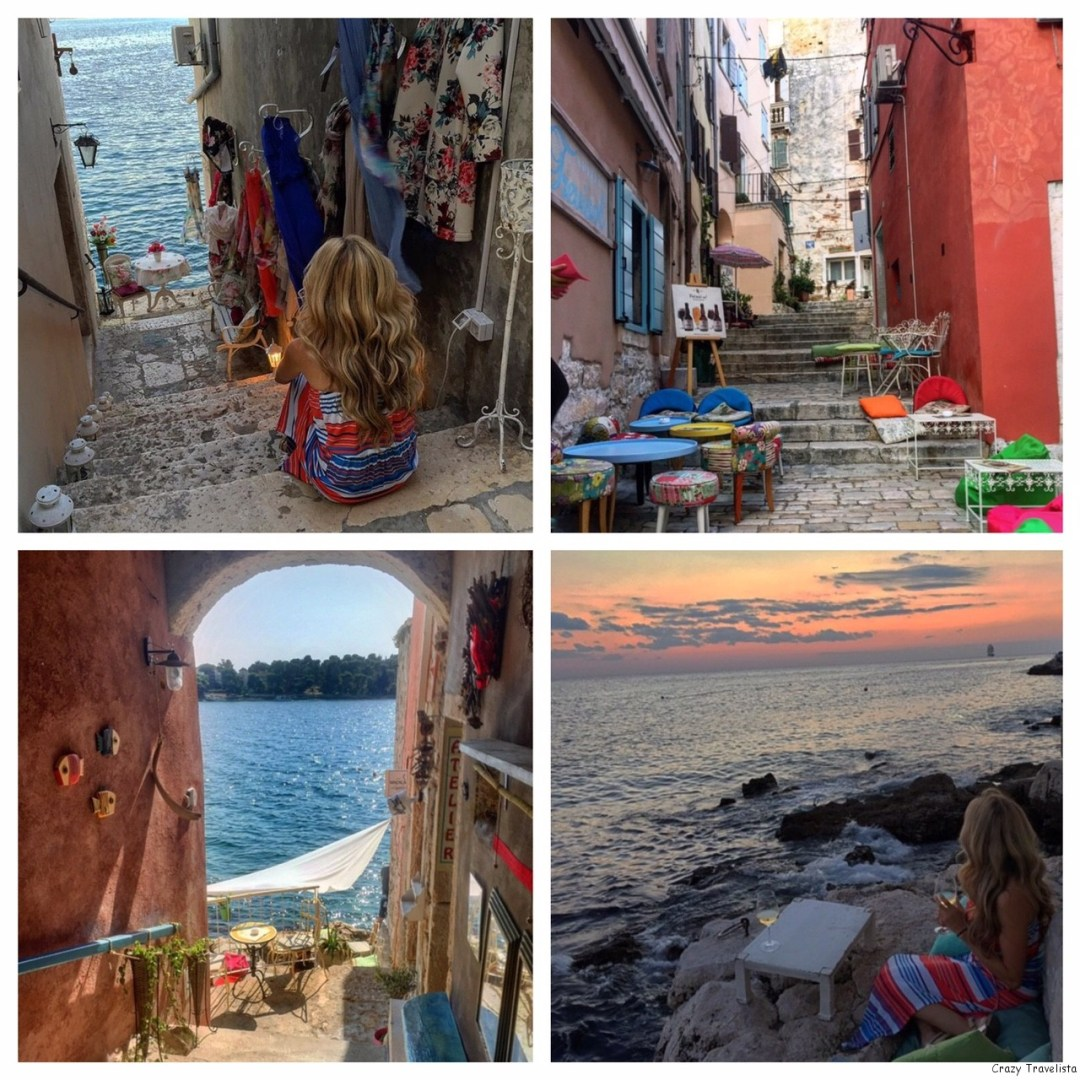 streets of Rovinj, Croatia