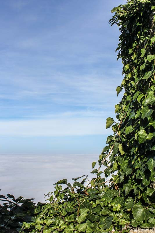 Beautiful clouds of San Marino