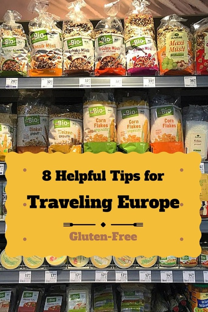 Traveling Europe with Gluten Allergy