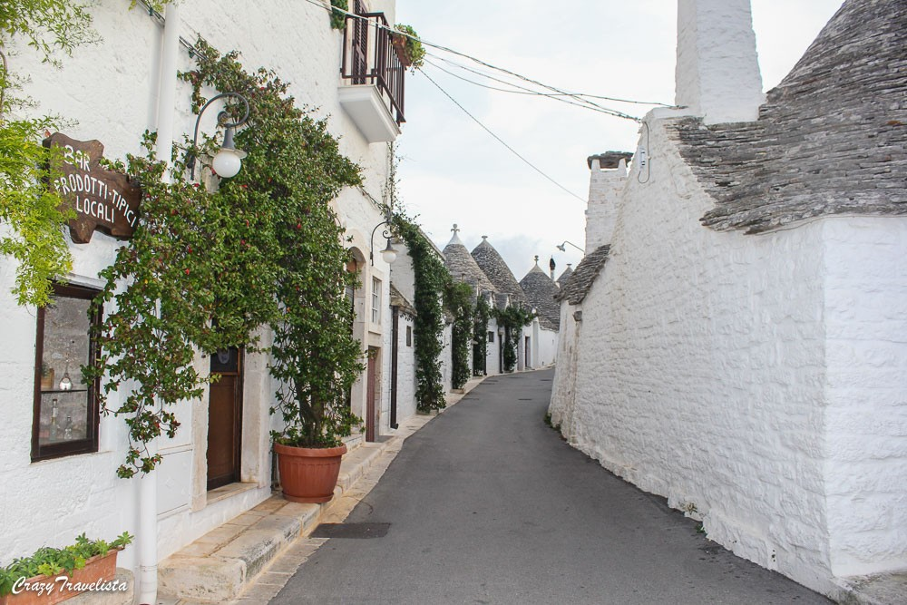 Typical Trulli in Italy