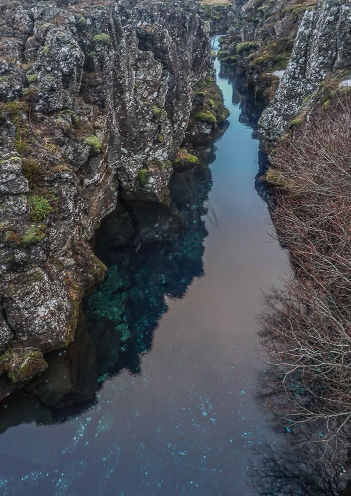 Þingvellir National Park fissure