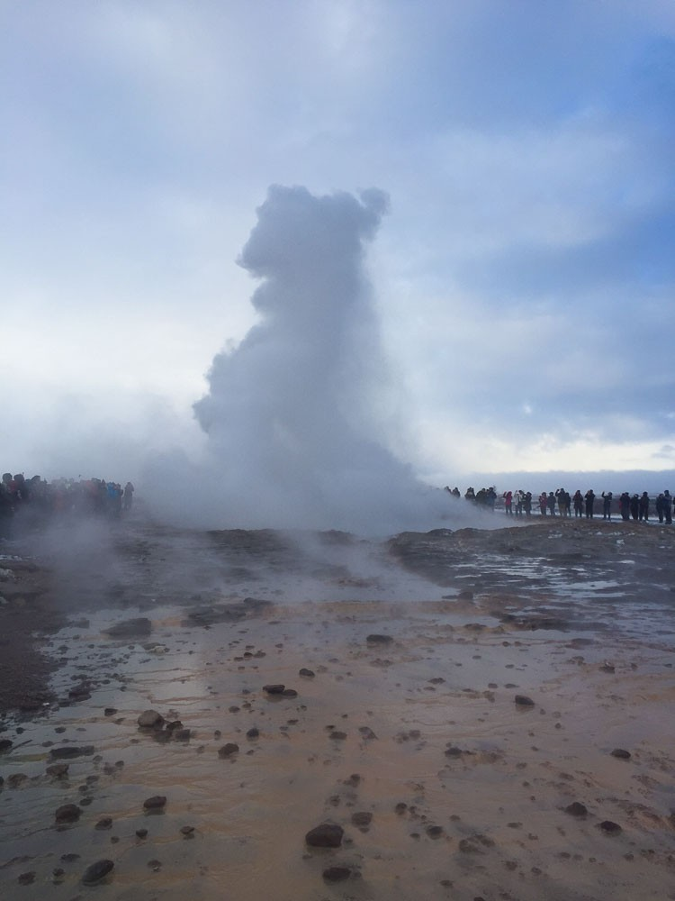 Strokkur Geysir on Golden Circle Tour