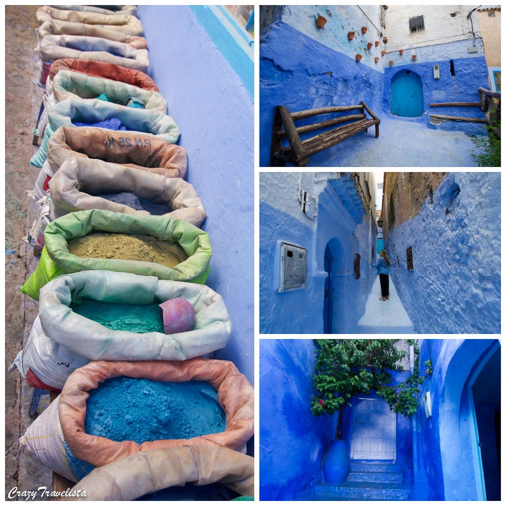 Blue city, Morocco