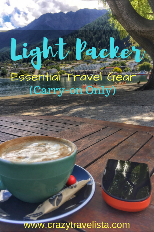 Light packer travel essentials!