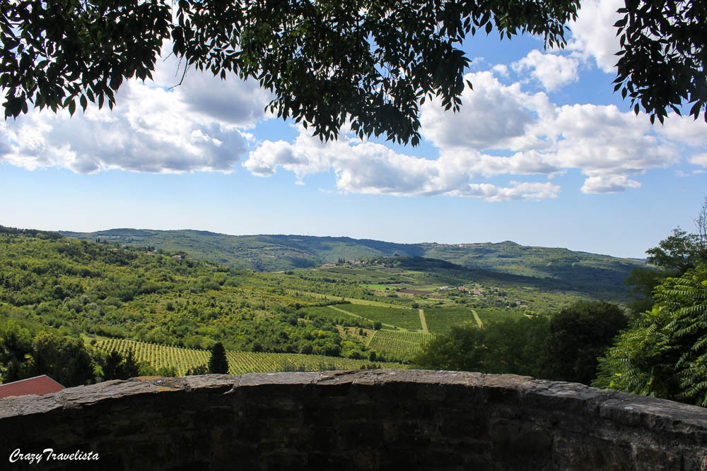 Istria, Croatia 1-day Road Trip; Motovun