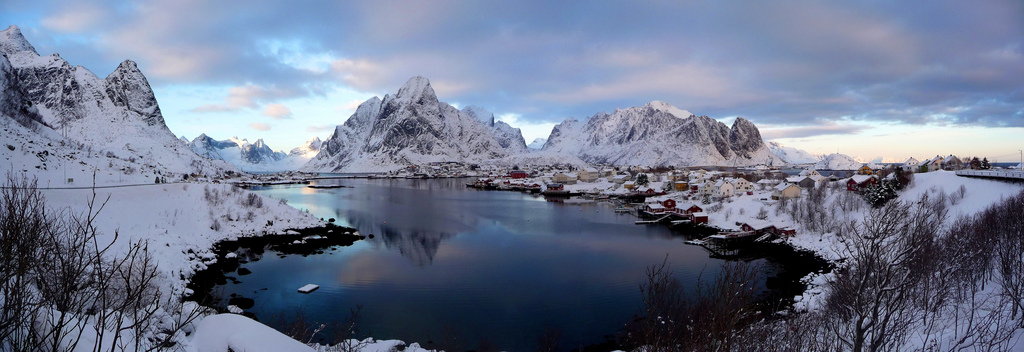 reine norway photo