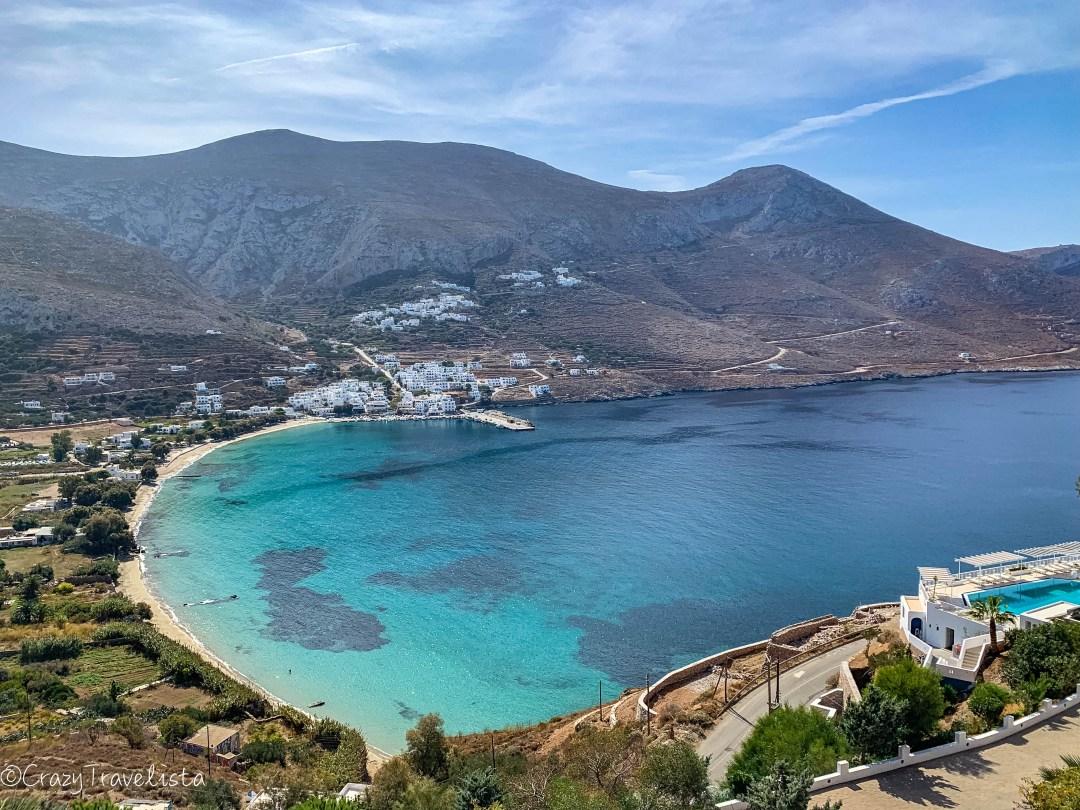 Aegiali bay, Amorgos