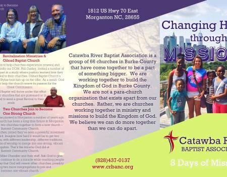 CRBA Prayer Guide Outside