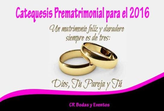 Catequesis prematrimonial 2016
