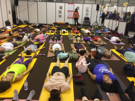 yoga festival paris 2018 #03