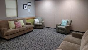 AC - lounge area