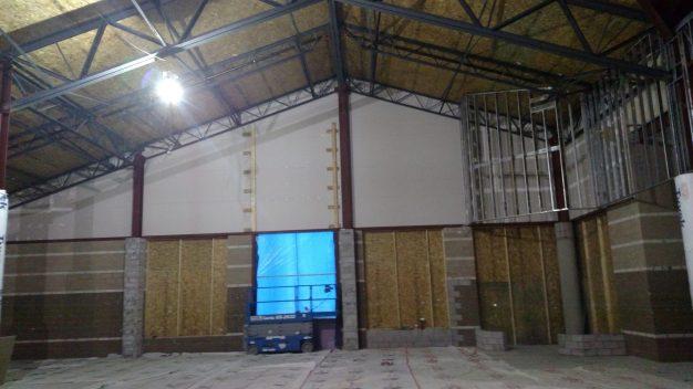 interior walls