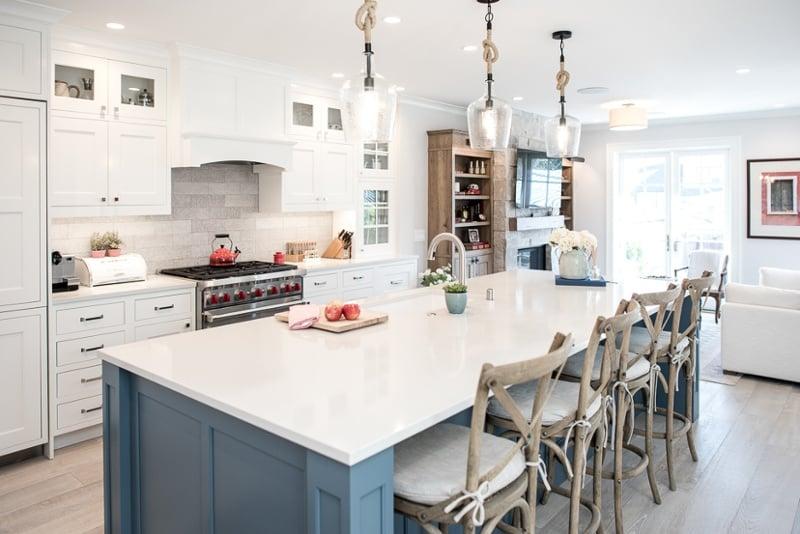 the 5 main types of kitchen island lighting