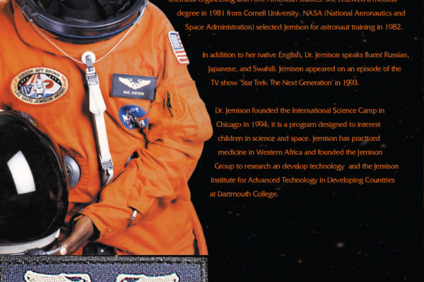 Mae Carol Jemison Poster