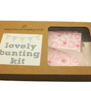Pink Bunting Sewing Kit-0