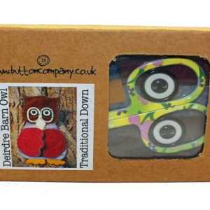 Traditional Down Deirdre Barn Owl Scissor Keep Sewing Kit-0