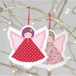 Christmas Angels Sewing Kit-0
