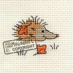 Tiddlers Cross Stitch Kits - Autumn Hedgehog-0