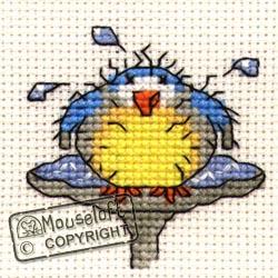 Stitchlets Cross Stitch Kits - After the Bath-0