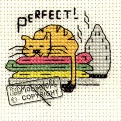 Perfect (Warm Ironing) Mini Cross Stitch Kit-0