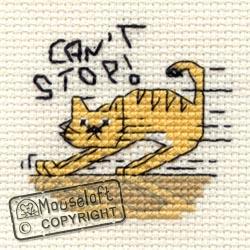 Can't Stop! Mini Cross Stitch Kit-0