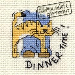 Dinner Time! Mini Cross Stitch Kit-0