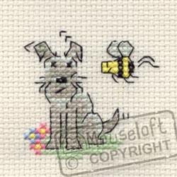 Little Dog Cross Stitch Kit - Summertime-0