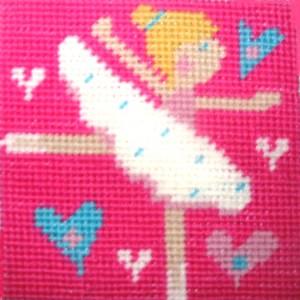 Children's Needlepoint Kit - Ballerina-0