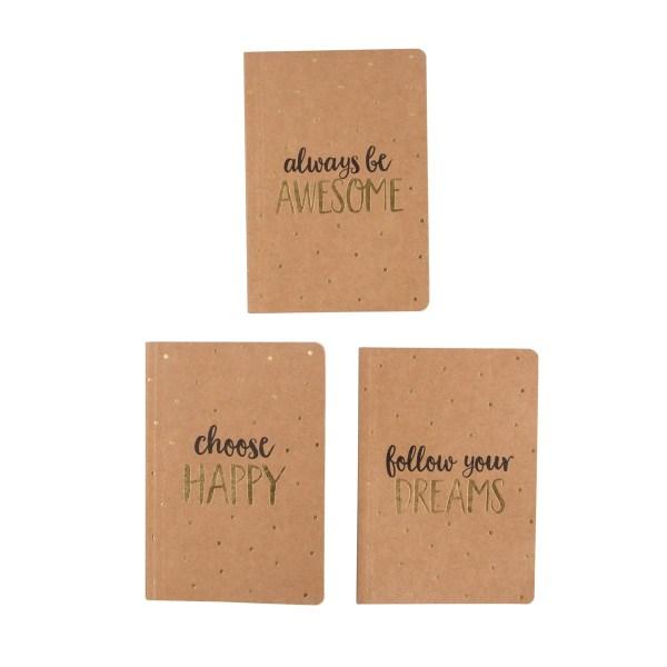 choose happy pocket notepad