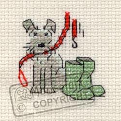 Little Dog Cross Stitch Kits