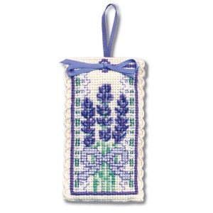 Cross Stitch Lavender Sachet Kits