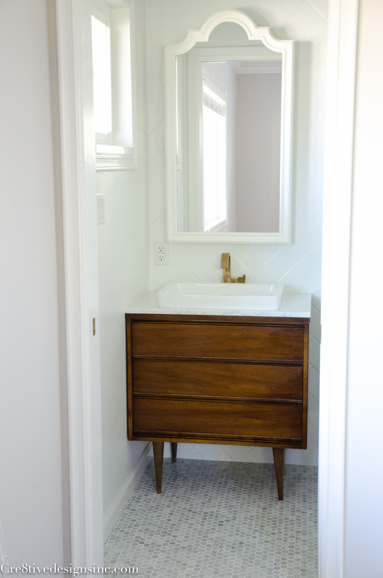 Designing A Tiny Bathroom Cre8tive Designs Inc