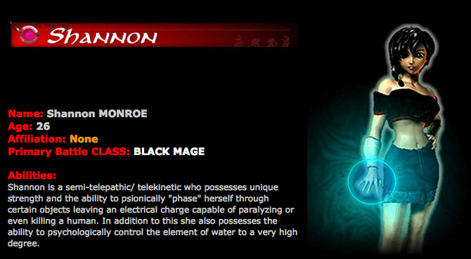 Shannon: Black Mage
