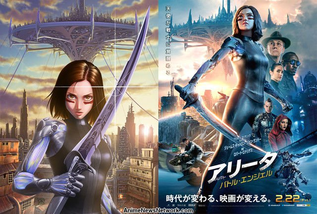 Battle Angel Alita: 2019 (Movie Review) A