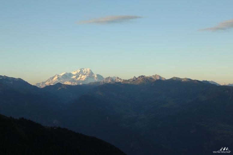 Mont Blanc coucher 2
