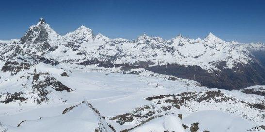 Pano Petit Cervin versant suisse