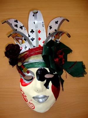 Máscara terminada