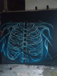 Pintado de la tela