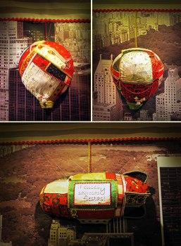 globos aerostaticos navideños