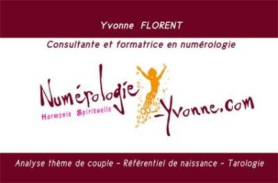 création : Carte de visite numerologue