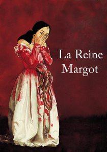 illustration aux encres de couleur - La reine Margot