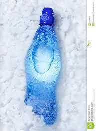 neve bottiglia