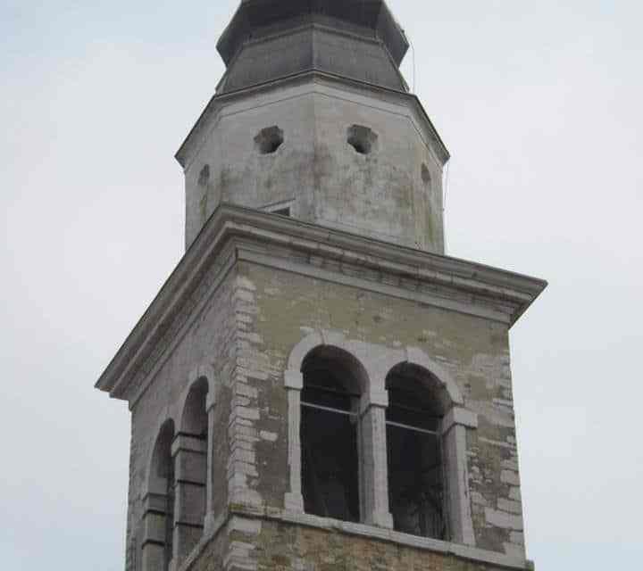Campanile della Chiesa della SS.ma Trinità di Rivarotta