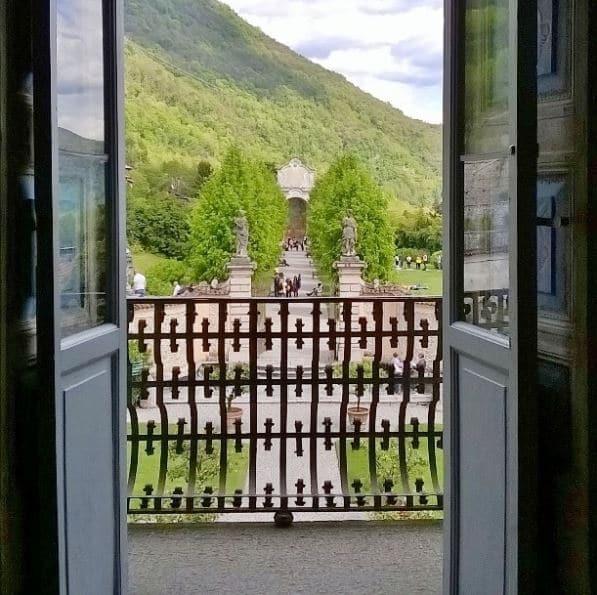 Dall'interno di Villa Della Porta Bozzolo - Obbiettiva