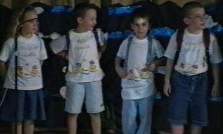 Spettacolo di chiusura anno scolastico dell'asilo 1998-1999