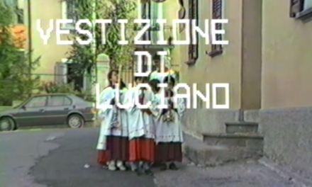 Vestizione di Don Luciano Capra